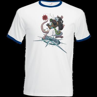 Motiv: T-Shirt Ringer - Alea - Stay Home