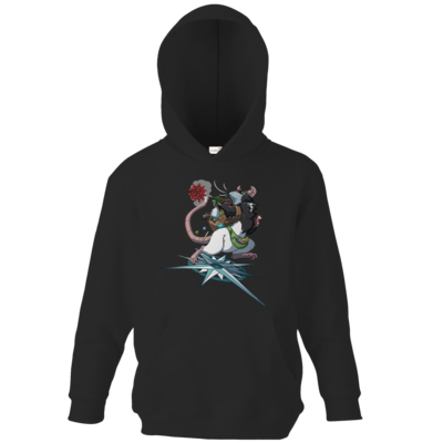 Motiv: Kids Hooded Sweat - Alea - Stay Home