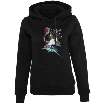 Motiv: Womens Heavy Hoody - Alea - Stay Home