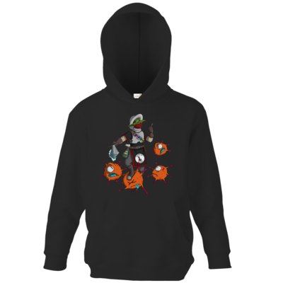 Motiv: Kids Hooded Sweat - Coronakämpfer