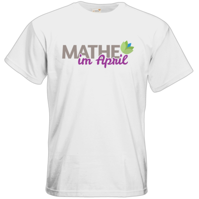 Motiv: T-Shirt Premium FAIR WEAR - Mathe im April 2020