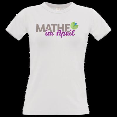 Motiv: T-Shirt Damen Premium FAIR WEAR - Mathe im April 2020
