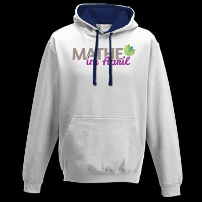 Motiv: Two-Tone Hoodie - Mathe im April 2020