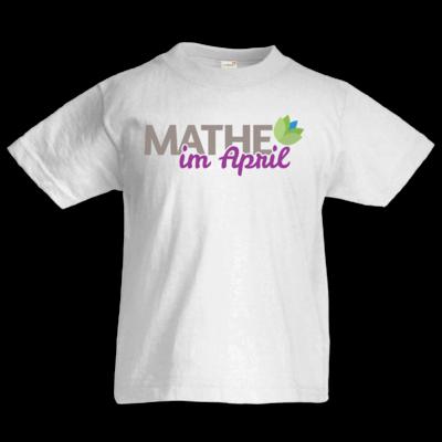Motiv: Kids T-Shirt Premium FAIR WEAR - Mathe im April 2020