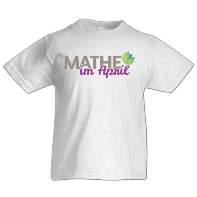 Motiv: Kids T-Shirt Premium FAIR WEAR - Mathe im April 2020