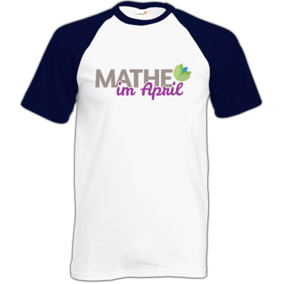 Motiv: Baseball-T FAIR WEAR - Mathe im April 2020