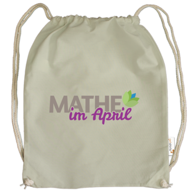 Motiv: Cotton Gymsac - Mathe im April 2020