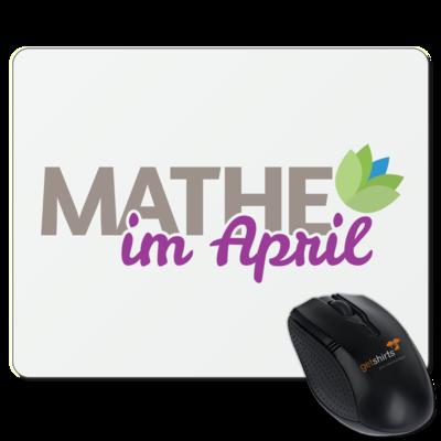 Motiv: Mousepad Textil - Mathe im April 2020