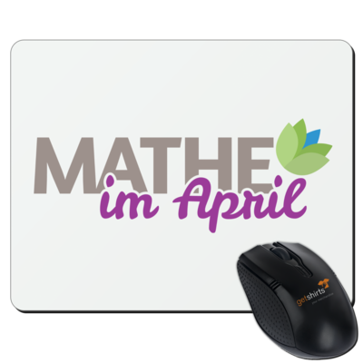 Motiv: Mousepad Textil - Mathe im April 2020