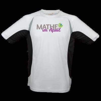 Motiv: Laufshirt Running T - Mathe im April 2020