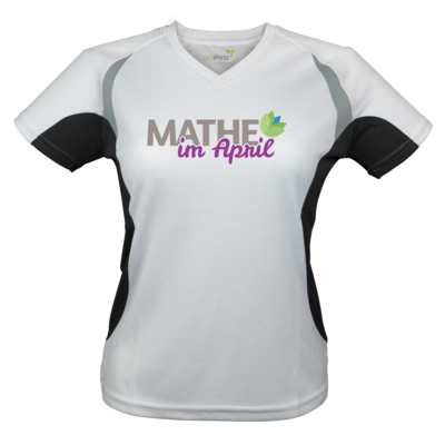 Motiv: Laufshirt Lady Running T - Mathe im April 2020