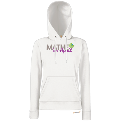Motiv: Hoodie Damen Classic - Mathe im April 2020