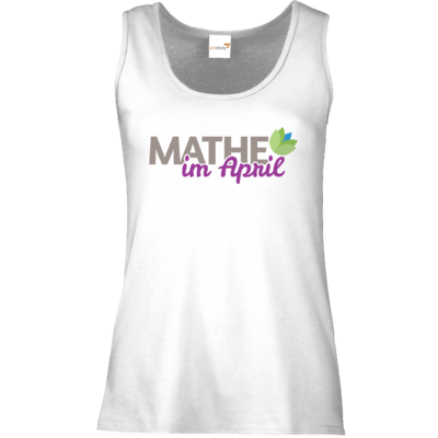 Motiv: Tank Top Damen Classic - Mathe im April 2020