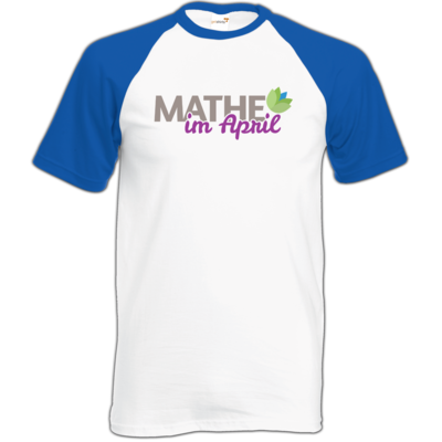 Motiv: TShirt Baseball - Mathe im April 2020