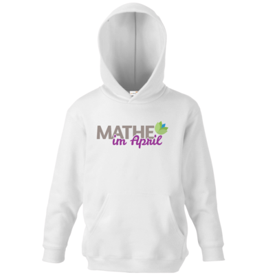 Motiv: Kids Hooded Sweat - Mathe im April 2020