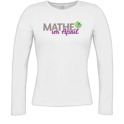 Motiv: Longsleeve Damen Organic - Mathe im April 2020