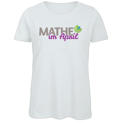 Motiv: Organic Lady T-Shirt - Mathe im April 2020