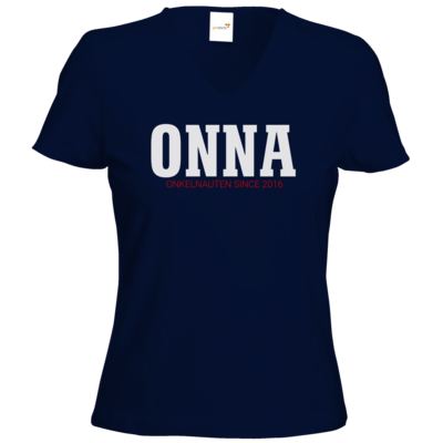 Motiv: T-Shirt Damen V-Neck Classic - ONNA