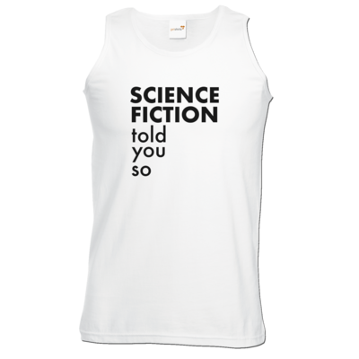 Motiv: Athletic Vest - Science Fiction told you so