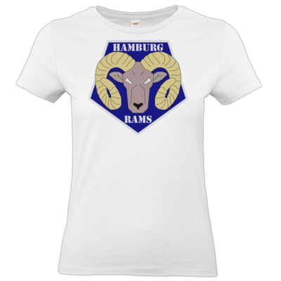Motiv: T-Shirt Damen Premium FAIR WEAR - Shadowrun - Hamburg Rams