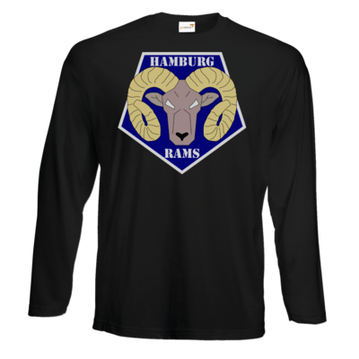 Motiv: Exact 190 Longsleeve FAIR WEAR - Shadowrun - Hamburg Rams