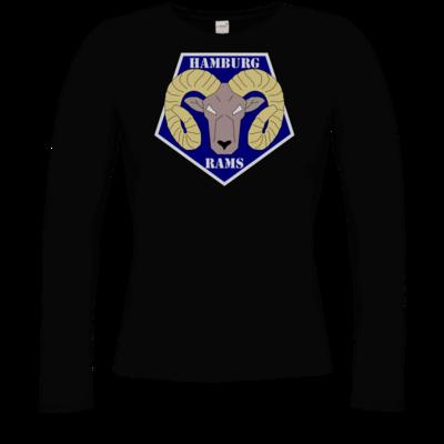 Motiv: Longsleeve Damen Organic - Shadowrun - Hamburg Rams