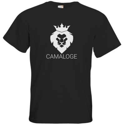 Motiv: T-Shirt Premium FAIR WEAR - Camaloge-Löwe