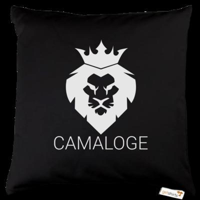 Motiv: Kissen Baumwolle - Camaloge-Löwe