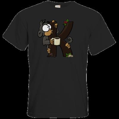 Motiv: T-Shirt Premium FAIR WEAR - K-Affe