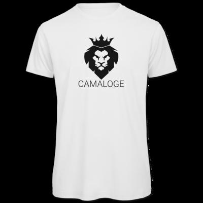 Motiv: Organic T-Shirt - Camaloge-Löwe