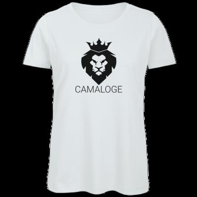 Motiv: Organic Lady T-Shirt - Camaloge-Löwe