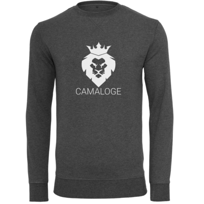 Motiv: Light Crew Sweatshirt - Camaloge-Löwe