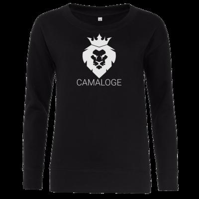 Motiv: Girlie Crew Sweatshirt - Camaloge-Löwe