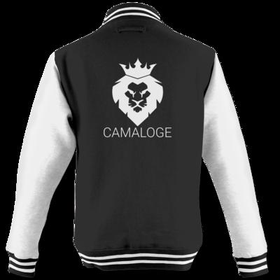 Motiv: College Jacke - Camaloge-Löwe