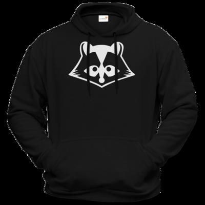 Motiv: Hoodie Premium FAIR WEAR - Coon bw Logo