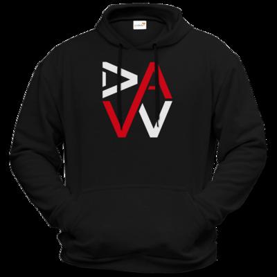 Motiv: Hoodie Premium FAIR WEAR - DaW-Logo Rot