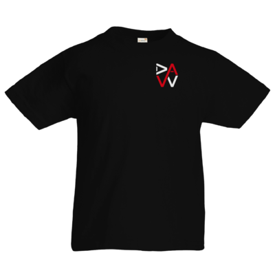 Motiv: Kids T-Shirt Premium FAIR WEAR - DaW-Logo Rot