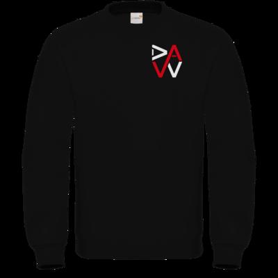 Motiv: Sweatshirt FAIR WEAR - DaW-Logo Rot