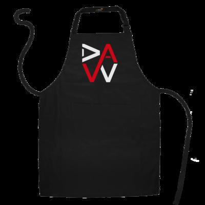 Motiv: Schürze - DaW-Logo Rot