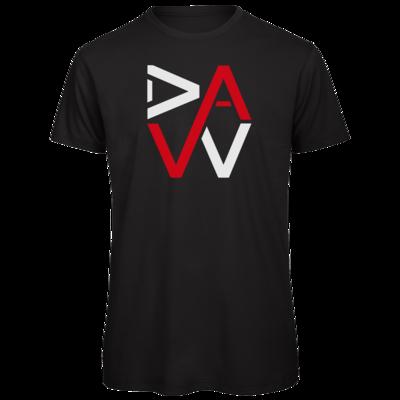 Motiv: Organic T-Shirt - DaW-Logo Rot