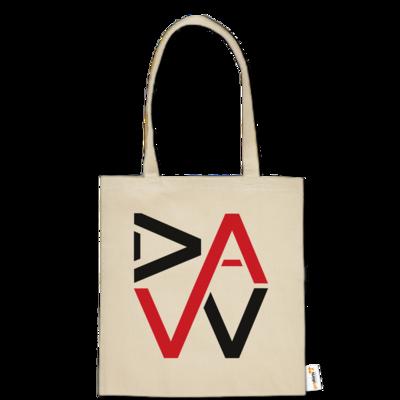 Motiv: Baumwolltasche - DaW-Logo Rot