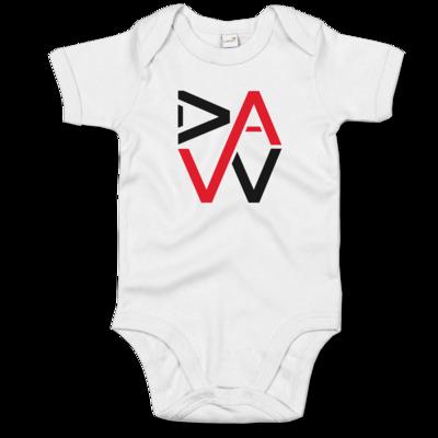 Motiv: Baby Body Organic - DaW-Logo Rot