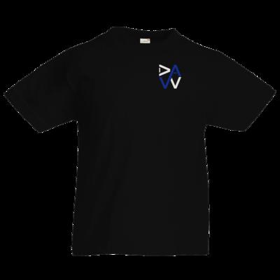 Motiv: Kids T-Shirt Premium FAIR WEAR - DaW-Logo Blau