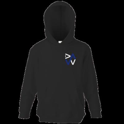 Motiv: Kids Hooded Sweat - DaW-Logo Blau