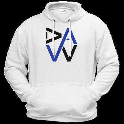 Motiv: Hoodie Premium FAIR WEAR - DaW-Logo Blau