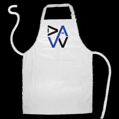 Motiv: Schürze - DaW-Logo Blau