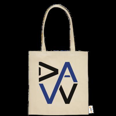 Motiv: Baumwolltasche - DaW-Logo Blau