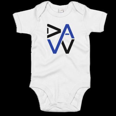 Motiv: Baby Body Organic - DaW-Logo Blau