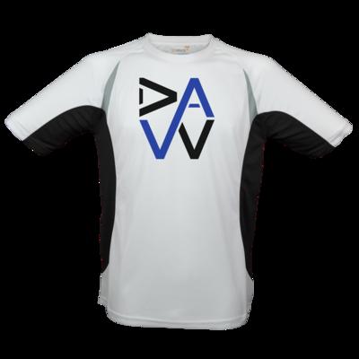 Motiv: Laufshirt Running T - DaW-Logo Blau