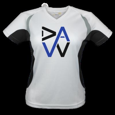 Motiv: Laufshirt Lady Running T - DaW-Logo Blau